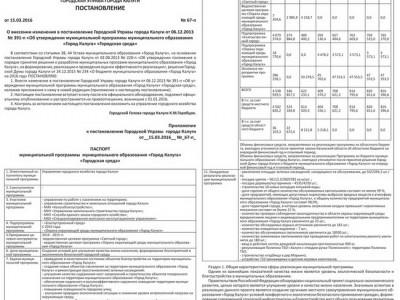 Приложение №11 от 24 марта 2016 года