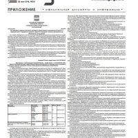 Приложение №20 от 26 мая 2016 года