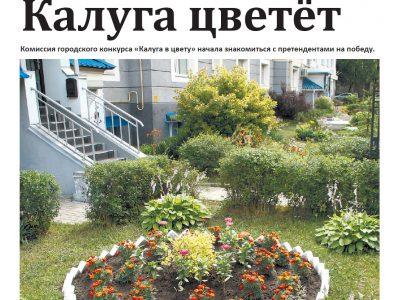 Газета «Калужская неделя», №27 от 12 июля 2018 года