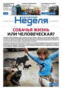 Газета «Калужская неделя» № 7 от 27 февраля 2020 года
