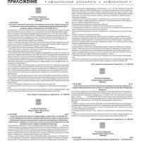 Приложение № 4 от 6 февраля 2020 года