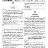 Приложение № 17 от 7 мая 2020 года