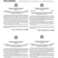 Приложение №29 от 30 июля 2020